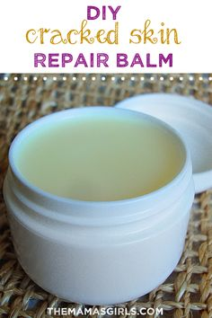 DIY Cracked Skin Repair Balm - Amazing!