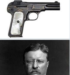 President Theodore Roosevelt's FN Model 1900 pistol.