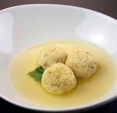 yum, matzah ball soup