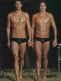 Michael Phelps and Ryan Lochte...