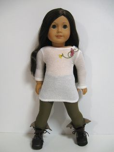 American Girl Doll Clothes  Fall Flowers by 123MULBERRYSTREET