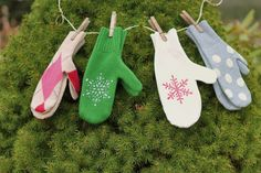 Sweater Mittens by Margo@Take Six » Blog