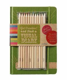 artists, diari kit, visual diari, gifts, diaries