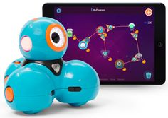 New Robot toy that teaches kids coding.