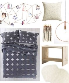 Dorm Style: Minimal & Modern for Under $175