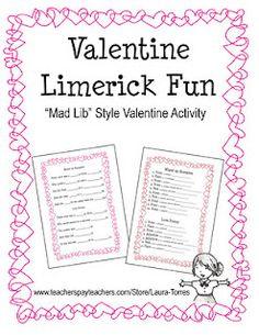 fun teacher, school, valentine day, februari, valentin limerick