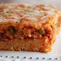 Sicilian+Rice+Ball+Casserole-+Cheat+Day!+by+skinnytaste.com