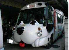 Japanese school buses!