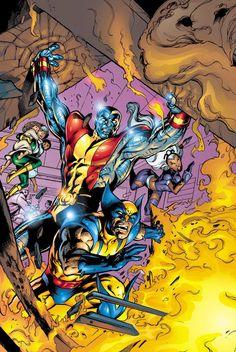 X-Men by Alan Davis