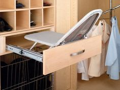 In Drawer Hidden Ironing Board