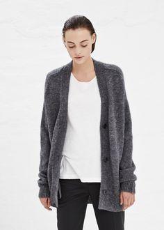 etoile wool mohair cardigan @wendelavandijk