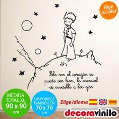 Vinilos para casa on pinterest wall stickers decals and - Vinilo infantil el principito ...