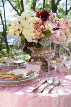 Rose-Colored Wedding Decoration Ideas