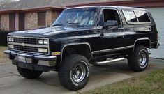 Chevrolet K5 Blazer: I have always loved the true Chevy Blazers (not the Tahoe and not the S-10 Blazer). I will own one some day.