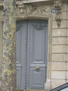 From Paris, a blue-gray mix
