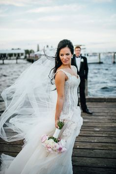 Pallas Couture wedding dress | Natasja Kremers Photography | see more on: http://burnettsboards.com/2014/09/glamorous-wedding-cutest-flower-girls/