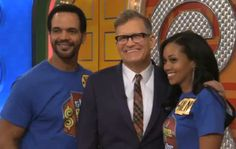 Hilary & Neil on The Price is Right