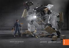 Rydd® Racking System - Defeat the Monster by Tom Emil Olsen, via Behance