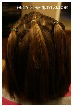 Girly Do's By Jenn: Ideas For Short Hair---#7