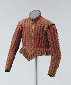 Early 17th century man's doublet