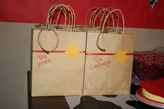 gift bags, toy, birthday parties, treat bag, jessi parti, party bags, goody bags, parti favor, parti idea