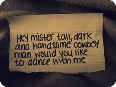 Cowboy Lady- Jason Aldean <3