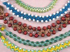 TURKISH FLAT BEAD CROCHET  from Bead Crochet Snakes