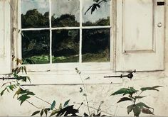 """Wisteria"" by Andrew Wyeth"