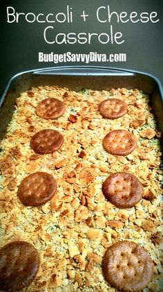 Amazing Casserole that is VERY easy to make.