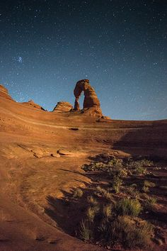 below delicate arch, arches national park, utah