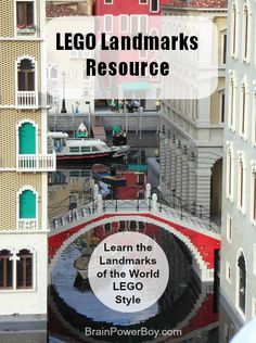 #LEGO Landmarks Resource: Learn the Landmarks of the World LEGO Style | BrainPowerBoy