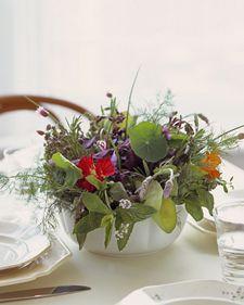 Herb Centerpiece: