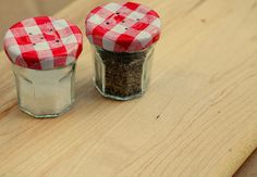 salt and pepper shakers! adorable!!
