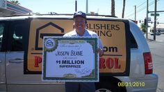 Joseph Beane-SuperPrize Winner!
