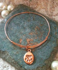 paw print, charm bangl, jewelri board, ani inspir, alex and ani