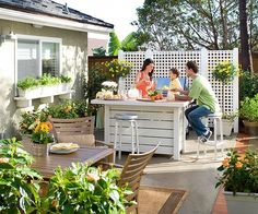 Do more than one thing out on your pario. We have 15 more design picks here: http://www.bhg.com/home-improvement/patio/designs/patios/?socsrc=bhgpin062414varythepurpose&page=13