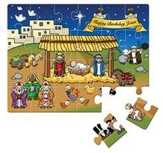 birthday jesus, happy birthdays, christma 2013, puzzles, jesus christma