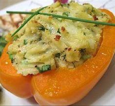 Potato-Stuffed Bell Peppers
