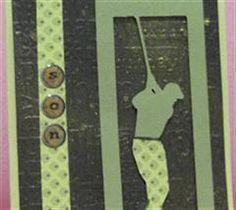 Masculine card using golf theme