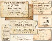 invitesnam card, travel theme, card idea, wedding cards, vintage weddings, escort cards, train, vintage wedding invitations, invit templat