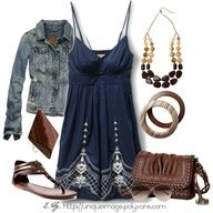 summer dresses, woman fashion, sundress, blue, the dress, jean jackets, summer outfits, dress outfits, casual outfits