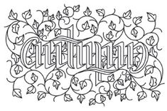 Autumn Ambigram