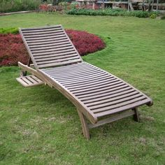 Family garden dream backyard on pinterest pergolas for Acacia wood chaise lounge