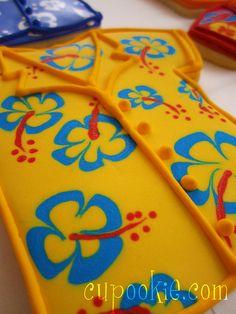 Hawaiian shirt  the flowers must be printed on?