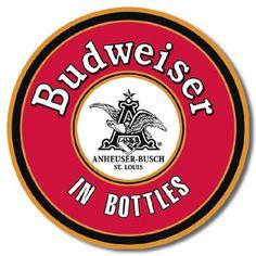 Bud in Bottles Tin Sign, $8.95