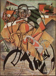 """""""Velodrome""""-Jean Metzinger, 1912"""