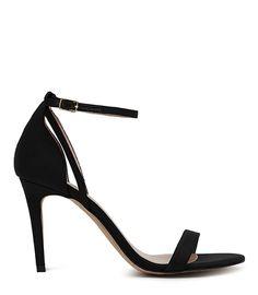 singl strap, heel sandal, reiss malva, malva shoe, strap sandal, woman shoes, black shoes, malva black, black singl