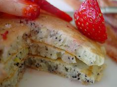 Lemon Poppyseed Pancakes!