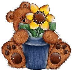 imagenes de osos country para imprimir - Imagenes y dibujos para ...