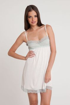 Spa Solage's Favorite Things - Eberjey Intimates - Butterfly Valley Chemise intim, butterflies, chemises, butterfli valley, valley chemis, isla style, gift guid, laura gift, eberjey eco